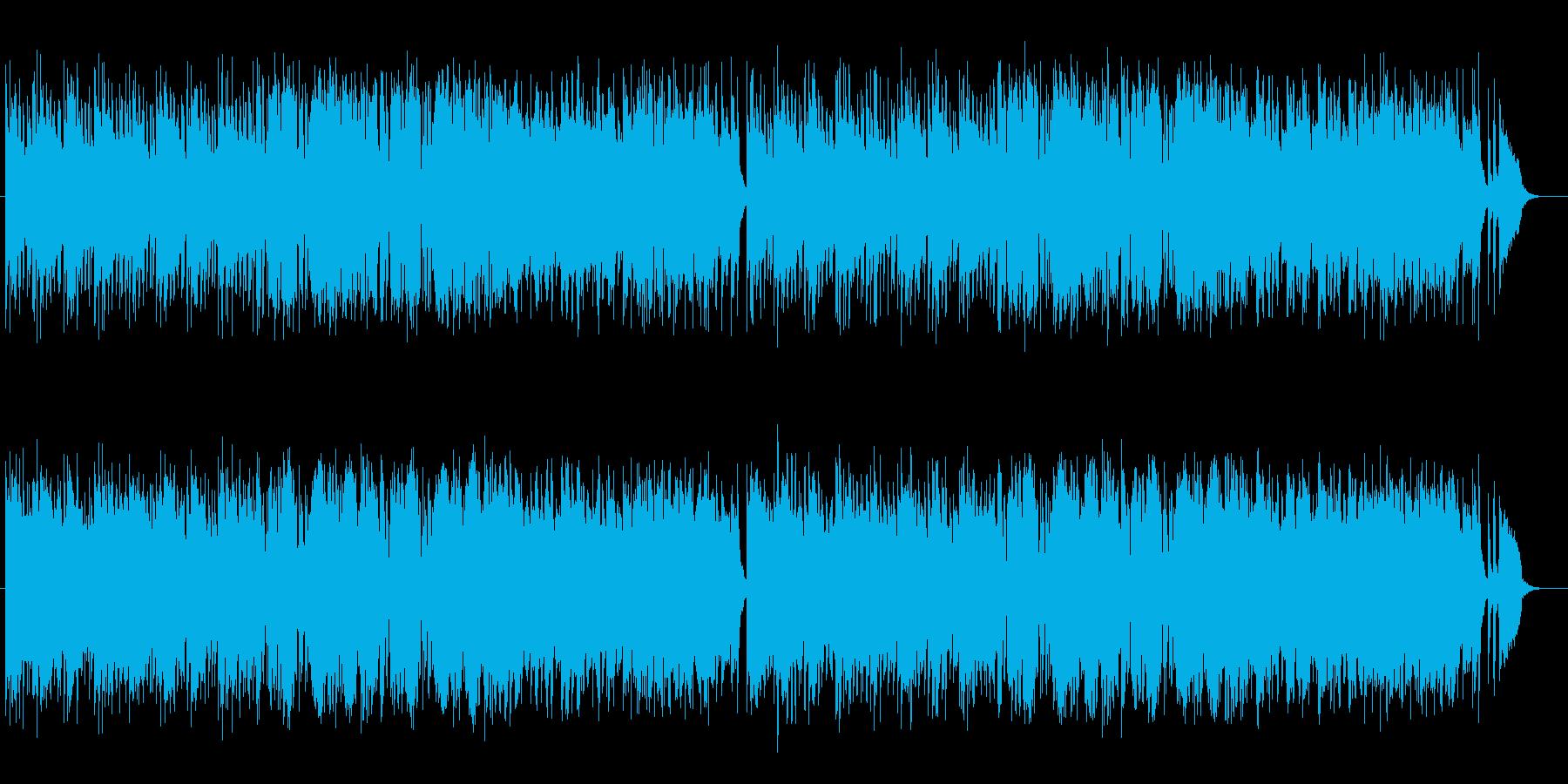 透明感のある美しいメロディのポップスの再生済みの波形
