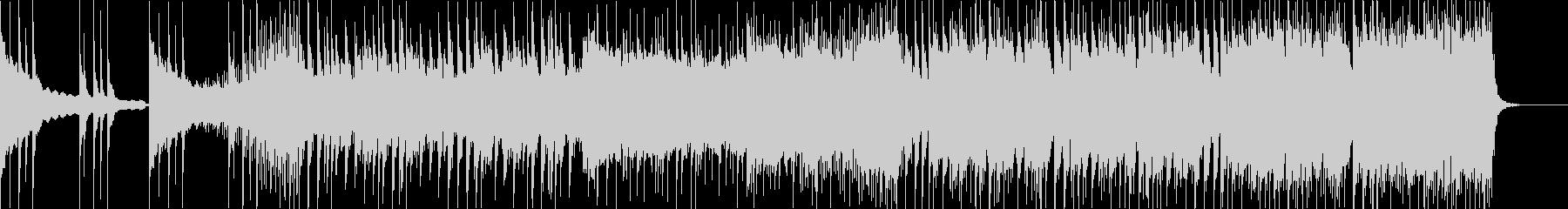 三味線+琴の近未来的でクールなEDMの未再生の波形