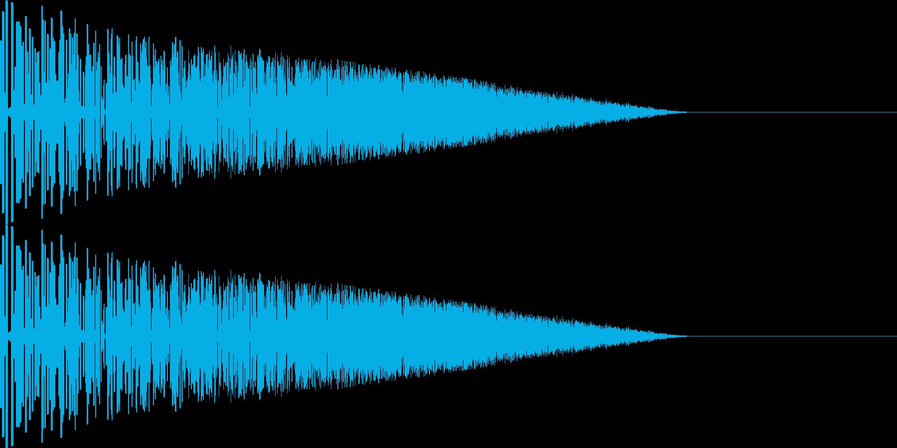 バシッ!(攻撃/格闘/パンチ/ファミコンの再生済みの波形