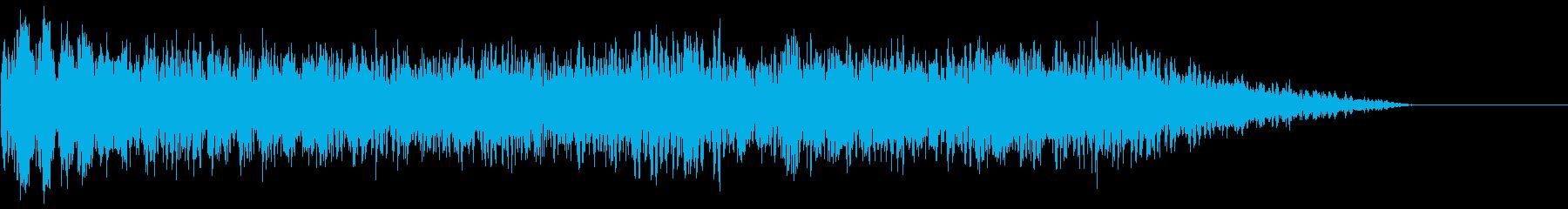 【ダーク】ホラー・サウンドスケイプ_09の再生済みの波形