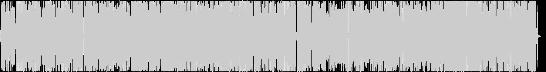 ノリの良いブラスとギターのファンクロックの未再生の波形