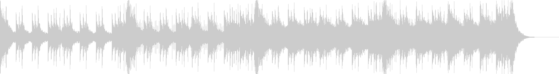 壮大なシネマティックのジングルの未再生の波形
