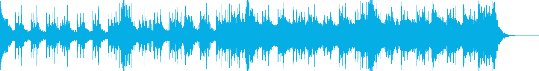 壮大なシネマティックのジングルの再生済みの波形