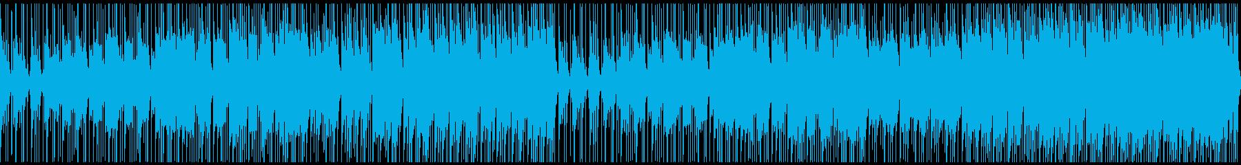 三味線、笛、箏を使った和風BGMの再生済みの波形