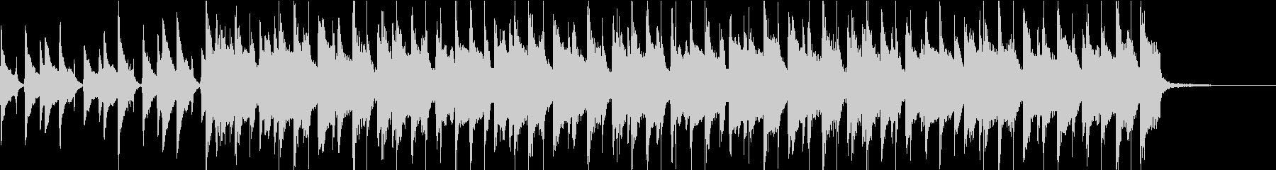 ウクレレほのぼのPOP・30秒ジングルの未再生の波形