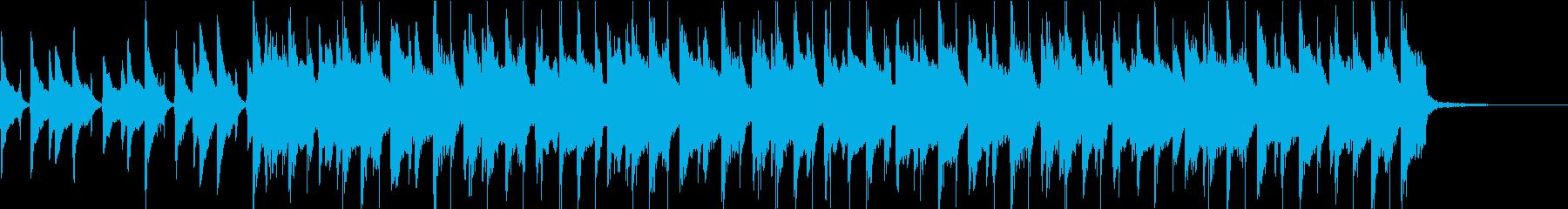 ウクレレほのぼのPOP・30秒ジングルの再生済みの波形