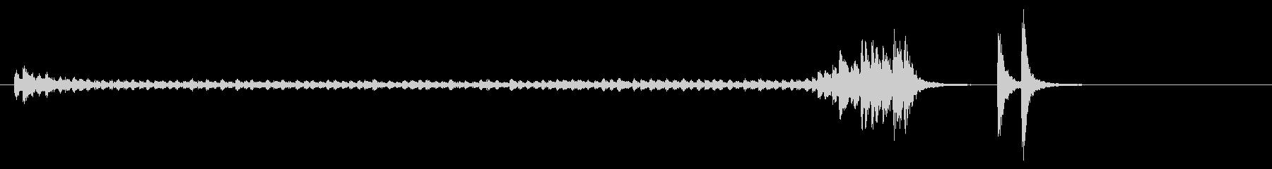 大太鼓28ドロ歌舞伎情景描写和風和太鼓劇の未再生の波形