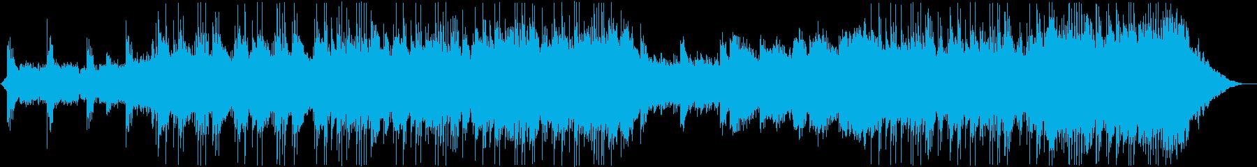 和楽器による壮大なシネマティック楽曲の再生済みの波形
