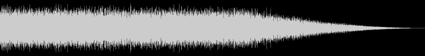 戦車の走行音/キャタピラの効果音06の未再生の波形