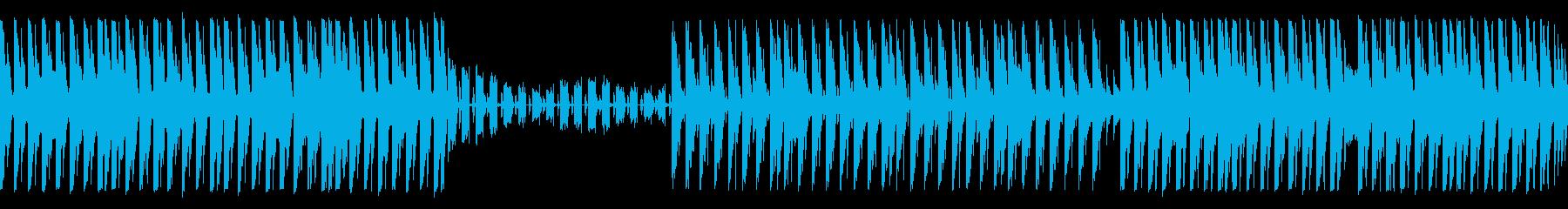 【ループ・Lead抜】可愛らしいEDMの再生済みの波形