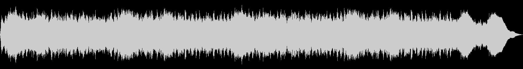 テーマ「走る」30秒BGMの未再生の波形