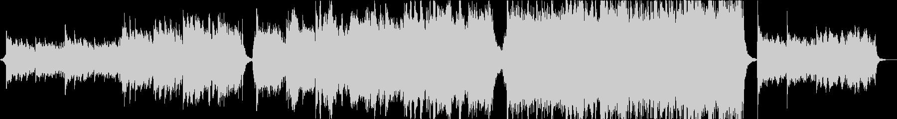 パワフルで切ないオーケストラエピックの未再生の波形