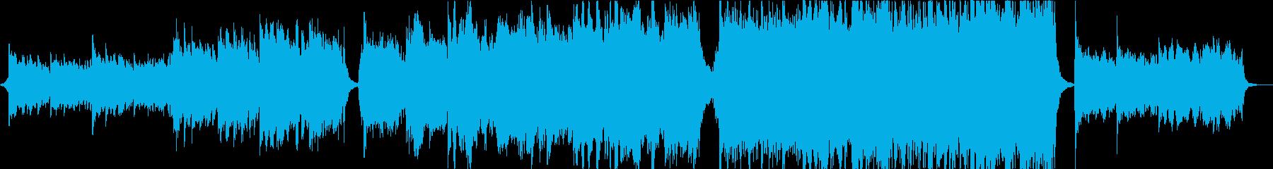 パワフルで切ないオーケストラエピックの再生済みの波形