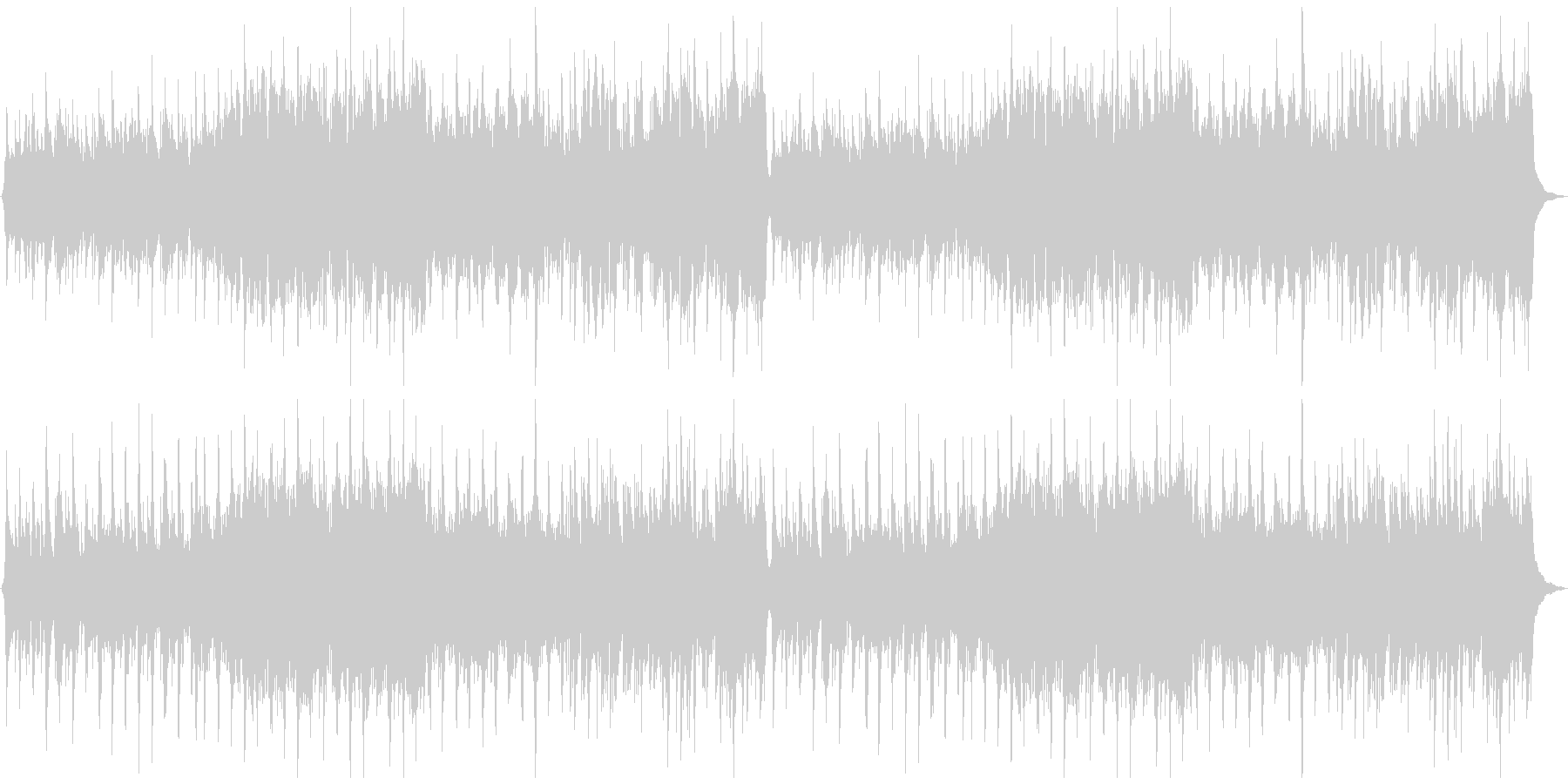 中世の切ない古楽の未再生の波形