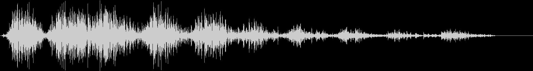 モンスター 笑い声 01の未再生の波形