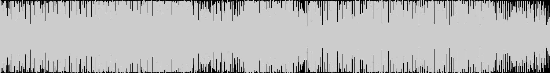 【ループ仕様】ポップで疾走感のあるBGMの未再生の波形