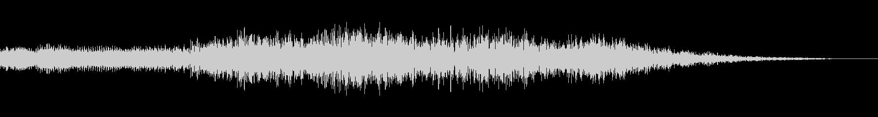 不吉なロゴ2の未再生の波形