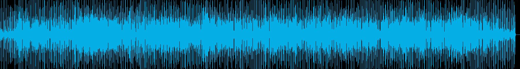1970年代中期Jazz Funkの再生済みの波形
