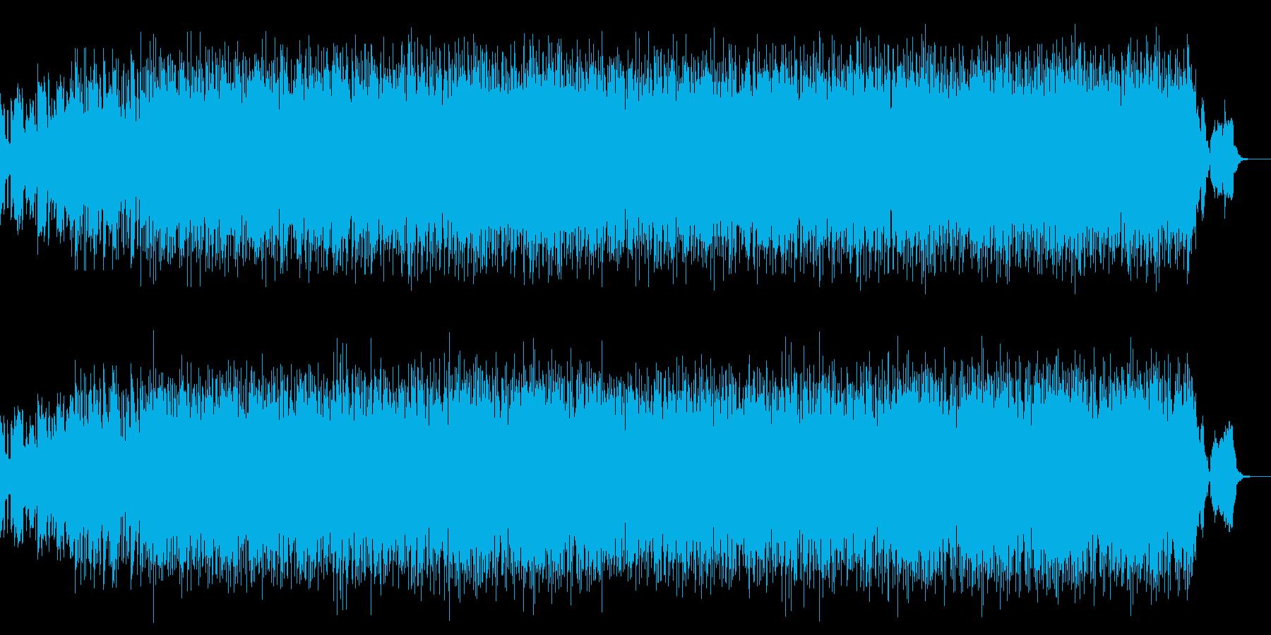 エルフの歌姫をイメージした架空の曲の再生済みの波形