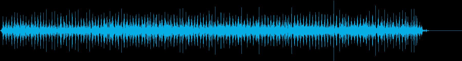 スモールスリープベル:安定した光の...の再生済みの波形