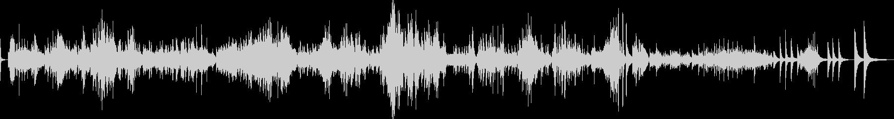 ショパン ノクターン Op55-No2の未再生の波形