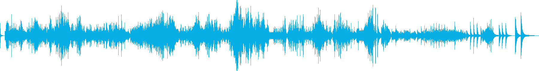 ショパン ノクターン Op55-No2の再生済みの波形