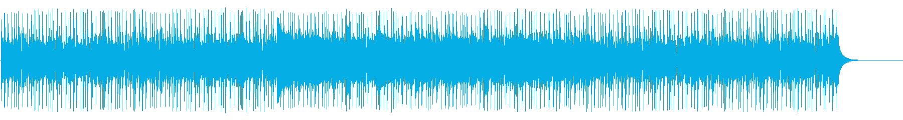 不穏な空気の怪しいマイナードキュメントの再生済みの波形