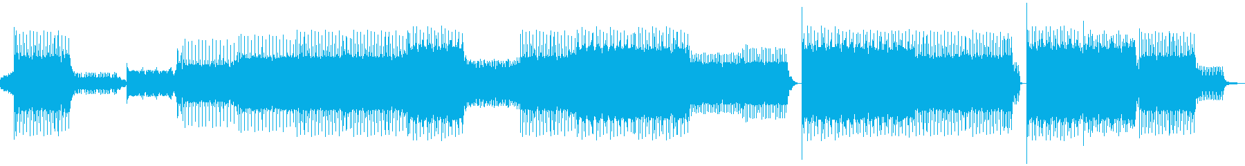 禅をイメージした和風テイストのトランスの再生済みの波形