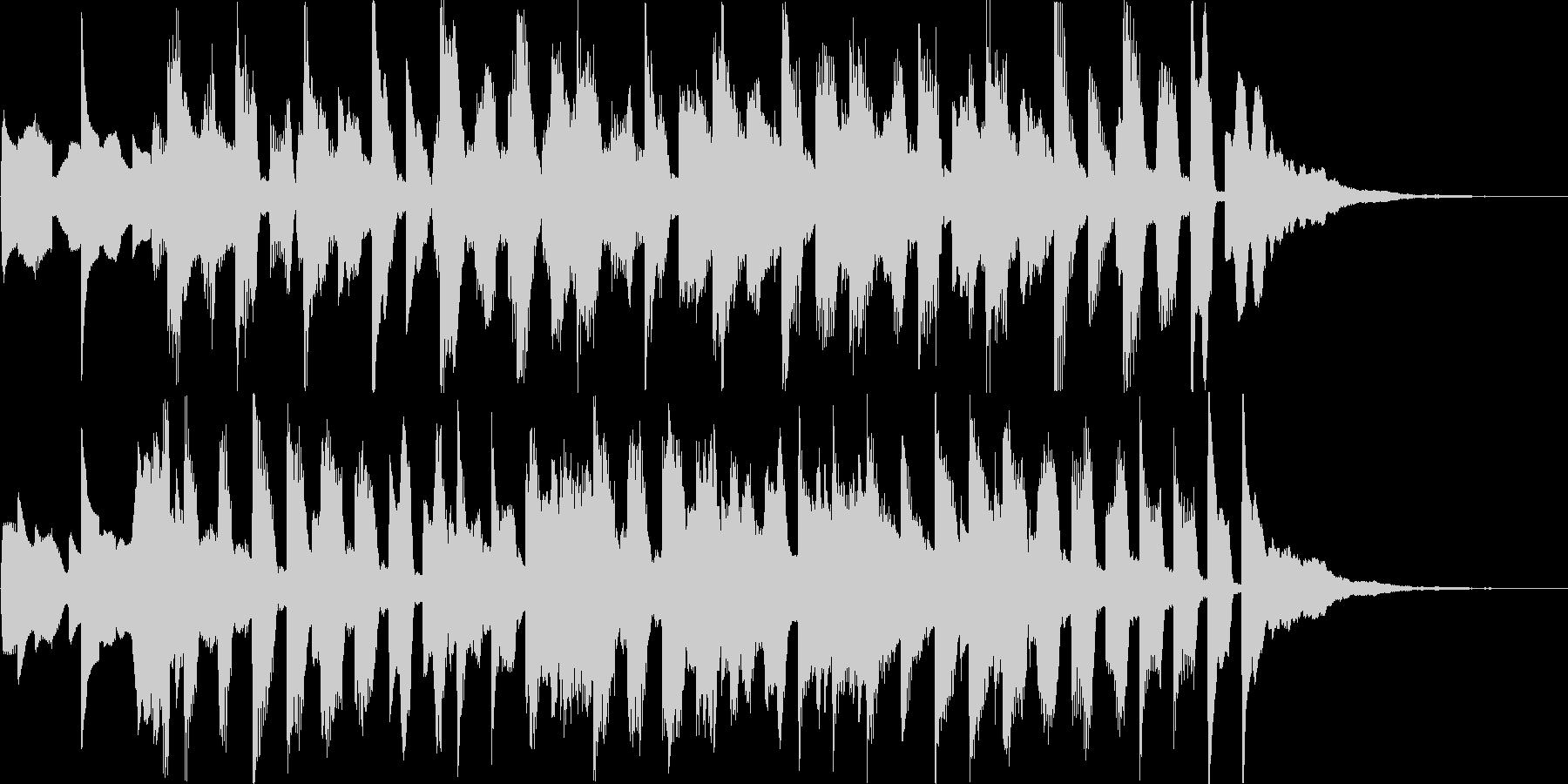 イベントコーナー分けジングルの未再生の波形