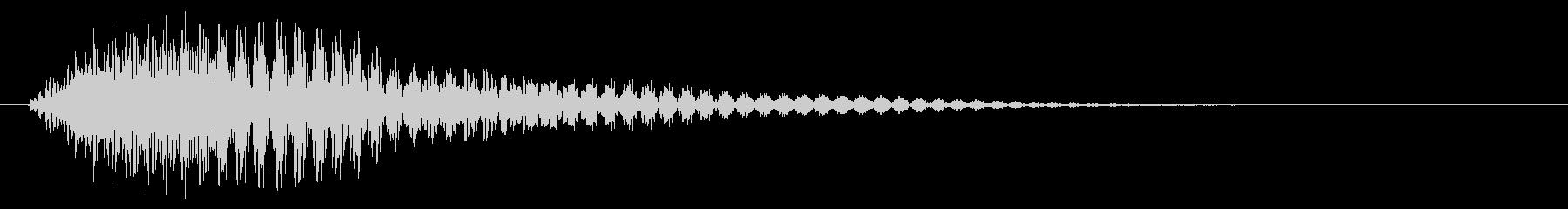タッチ音/フォン/柔らかいの未再生の波形