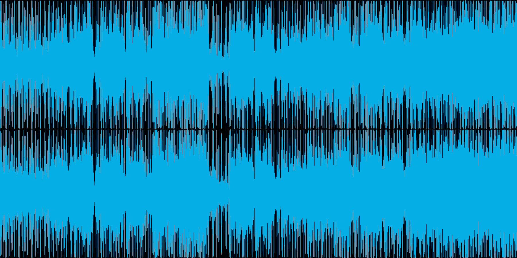 高揚感・緊迫感のある和風・バトル・ループの再生済みの波形