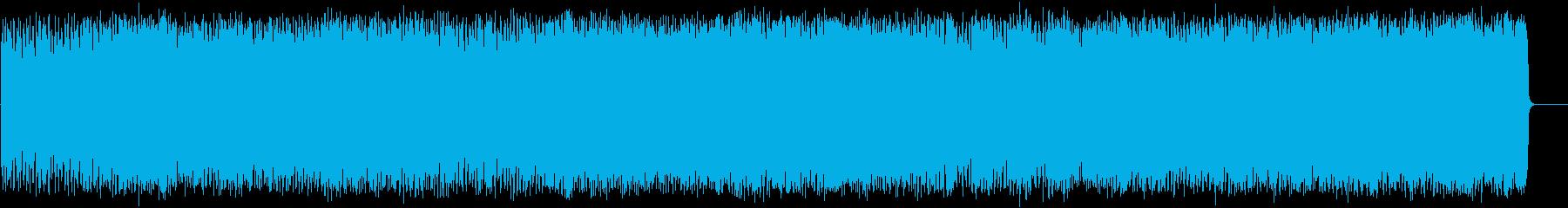 豪快に疾走するアメリカンハードロックの再生済みの波形