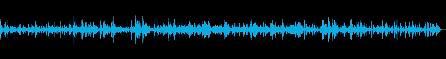 アダルトで哀愁感のある夜ジャズBGMの再生済みの波形