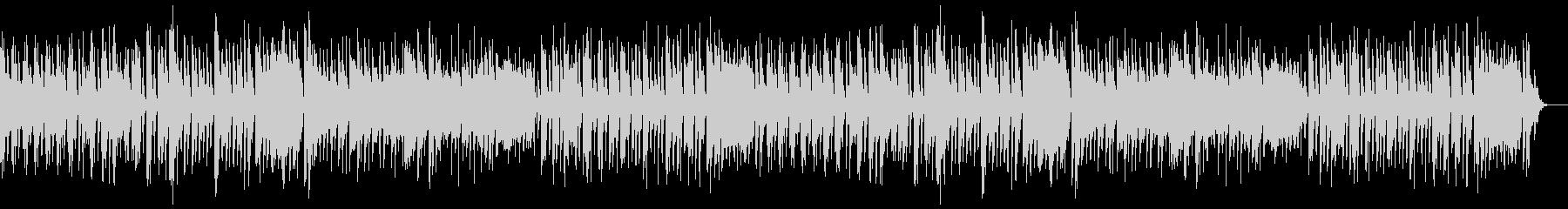 ほのぼの オーケストラ調のポップな曲の未再生の波形