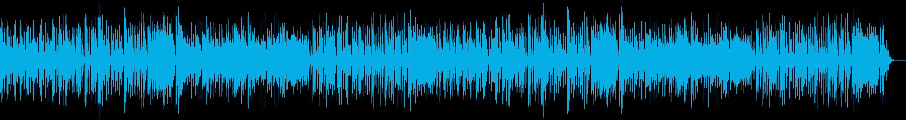 ほのぼの オーケストラ調のポップな曲の再生済みの波形