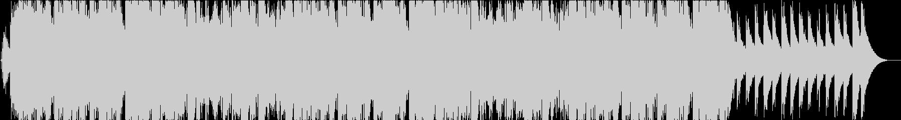 チャーチベルの印象的なクリスマスBGMの未再生の波形