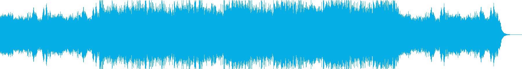 戦闘で最後の決断を迫られるBGMの再生済みの波形
