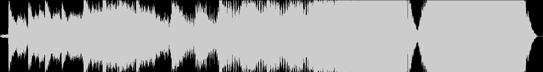 ダークオーケストラハリウッドトレイラーの未再生の波形