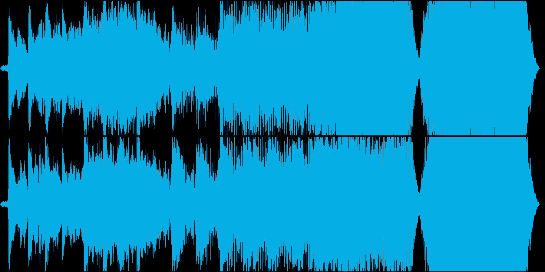 ダークオーケストラハリウッドトレイラーの再生済みの波形