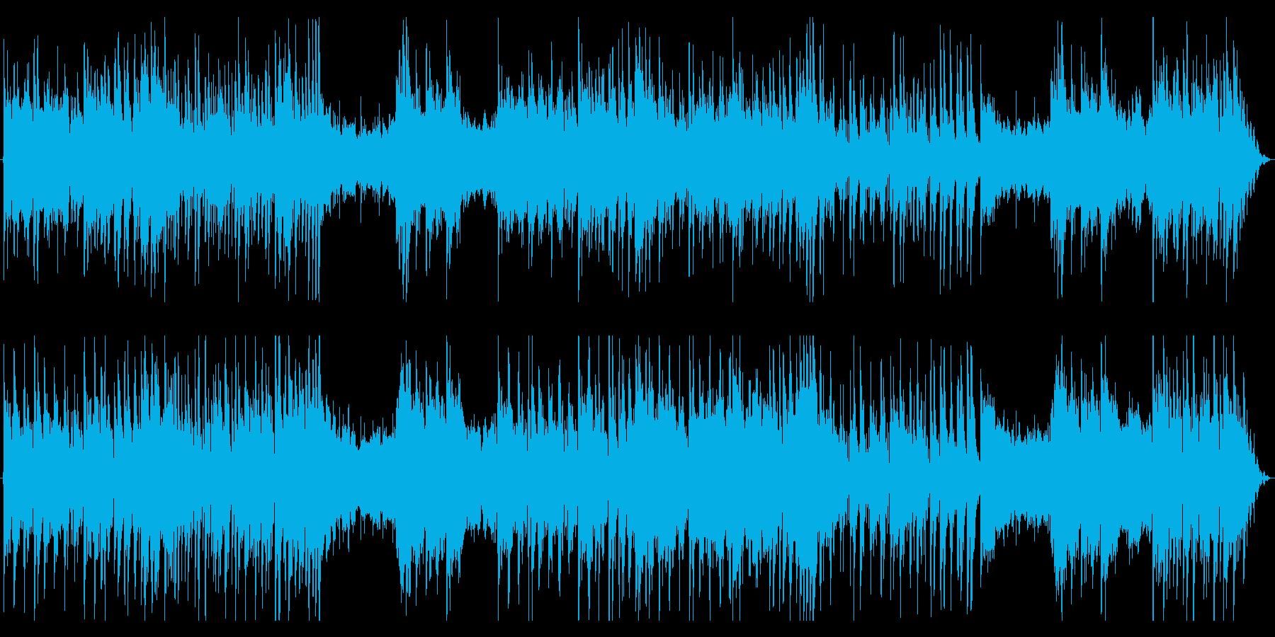 ミステリアスで妖しい3拍子_ファンタジーの再生済みの波形