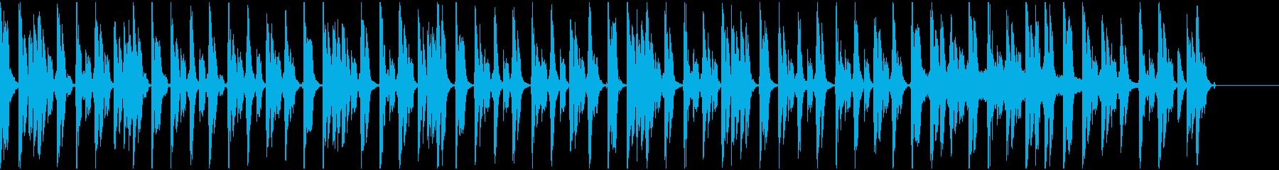 【エレクトロニカ】ロング5、ジングル1の再生済みの波形