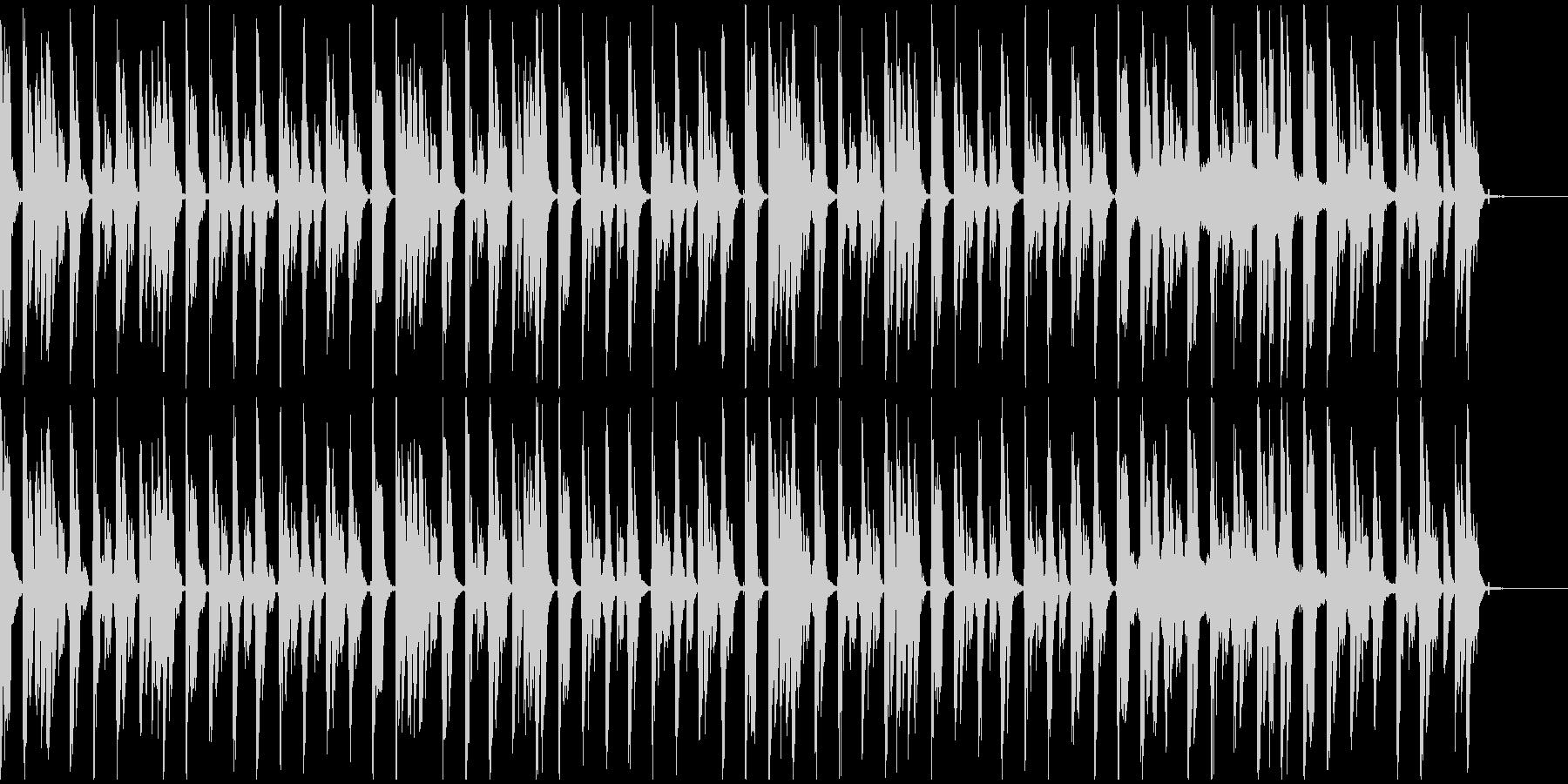 【エレクトロニカ】ロング5、ジングル1の未再生の波形