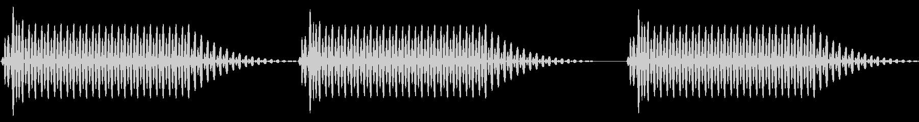 往年のRPG風 セリフ・吹き出し音 1の未再生の波形