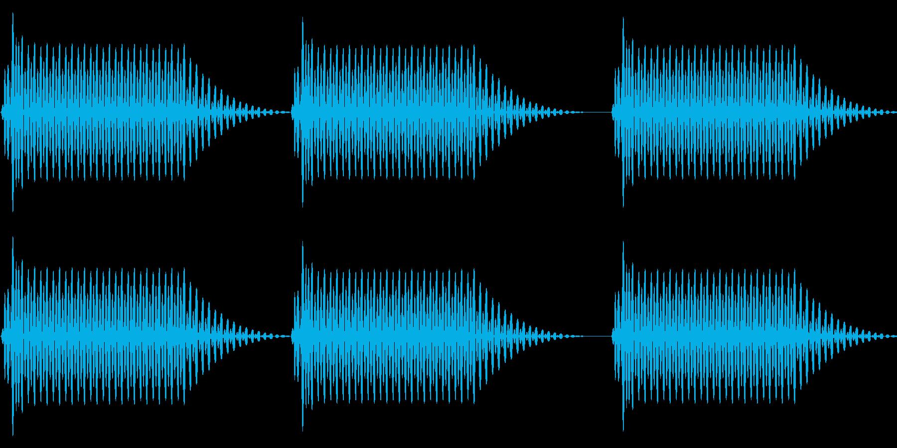 往年のRPG風 セリフ・吹き出し音 1の再生済みの波形
