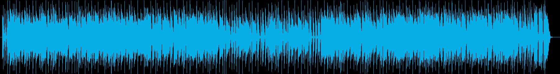 スラップベースがカッコいいDiscoの再生済みの波形