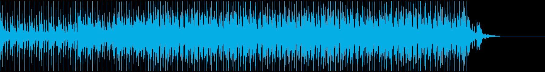 企業VP/CM向け明るい口笛&タムタムの再生済みの波形