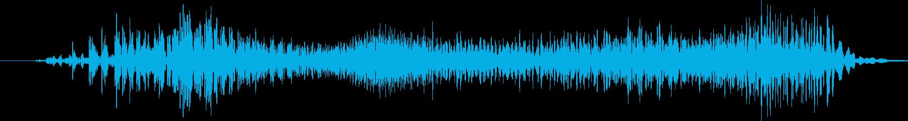 ソフトカバースーツケース:ジッパー...の再生済みの波形