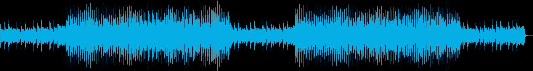 まったりとした日常 トロピカルハウスの再生済みの波形