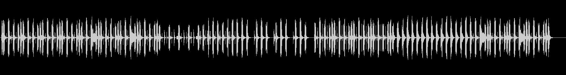 コミカルゆるかわいい日常マーチ♫の未再生の波形