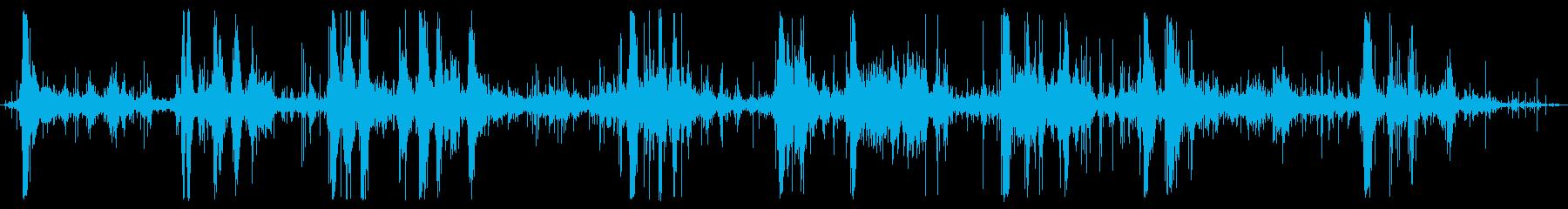 大ヒット、フォリーと葉のROMPの再生済みの波形